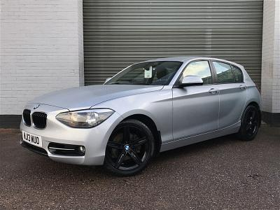 2013 BMW 1 SERIES 120d xDrive Sport 5dr [Professional Media]